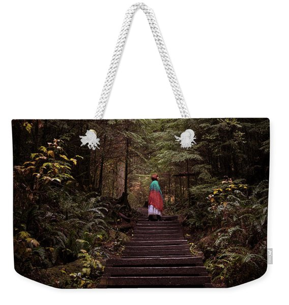 Lost In Nature Weekender Tote Bag