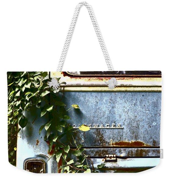 Lost In Time Weekender Tote Bag