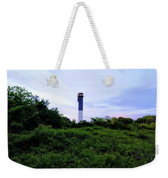 Lost Lighthouse Weekender Tote Bag