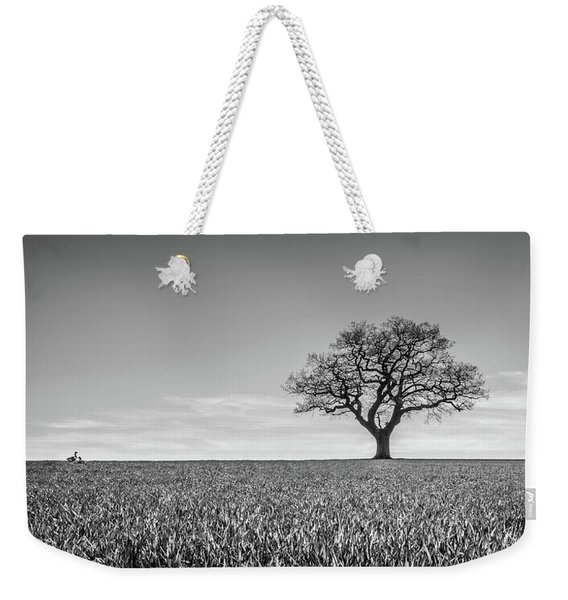 Weekender Tote Bag featuring the photograph Lost by Nick Bywater