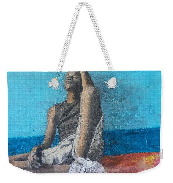 Lost Oasis Weekender Tote Bag