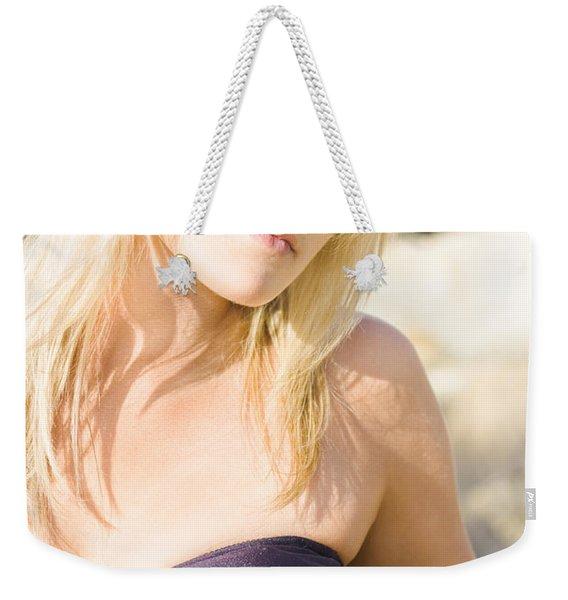 Lost Starfish Weekender Tote Bag