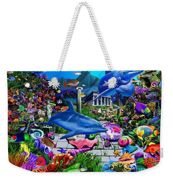 Lost Undersea World Weekender Tote Bag