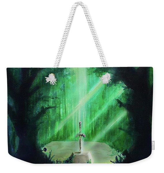 Lost Woods Master Sword Weekender Tote Bag