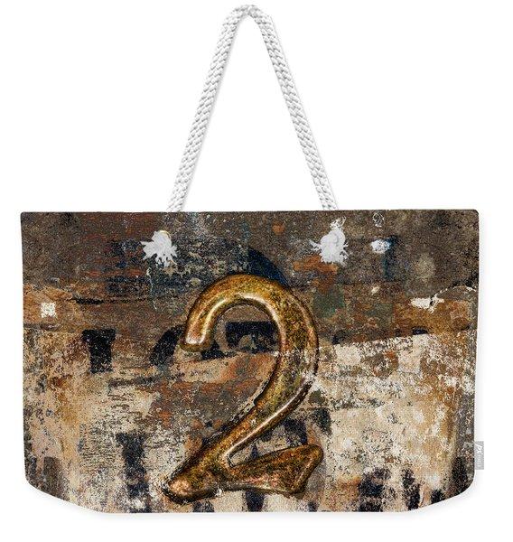 Lot Number Two Weekender Tote Bag
