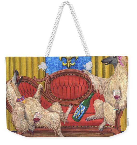 Lots Of Wining With These Bitches Weekender Tote Bag