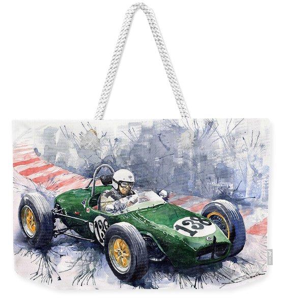 Lotus 18 F2 Weekender Tote Bag