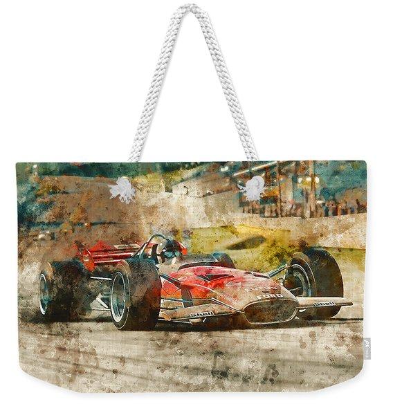 Lotus 49 - 33 Weekender Tote Bag