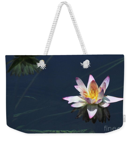 Lotus And Reflection Weekender Tote Bag