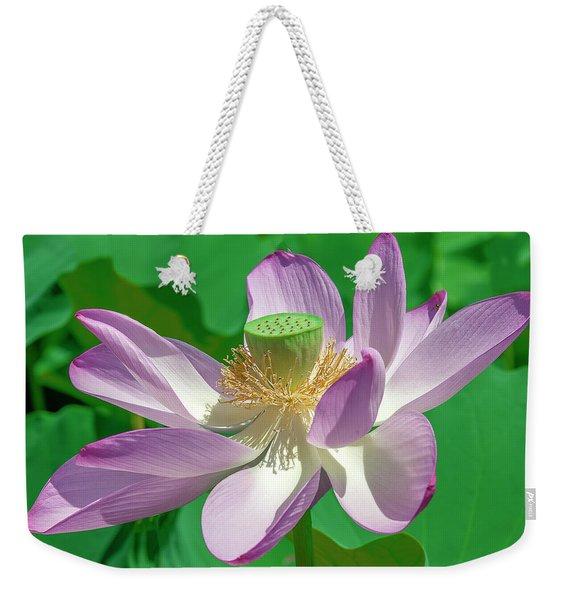 Lotus--fading II Dl0080 Weekender Tote Bag