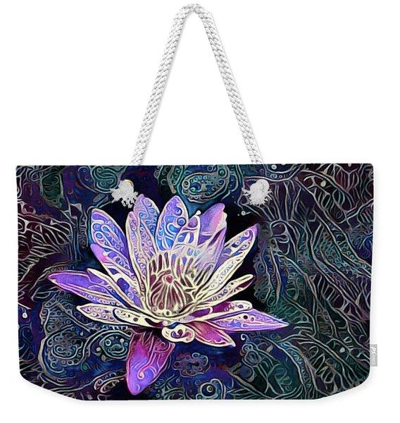 Lotus From The Mud Weekender Tote Bag