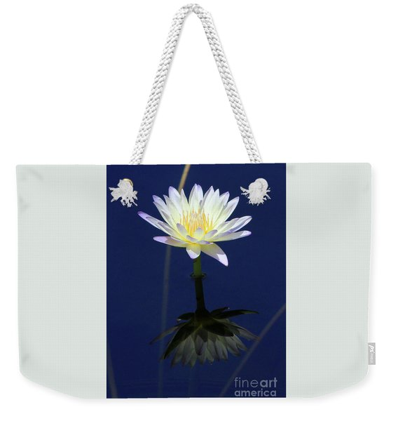 Lotus Reflection Weekender Tote Bag
