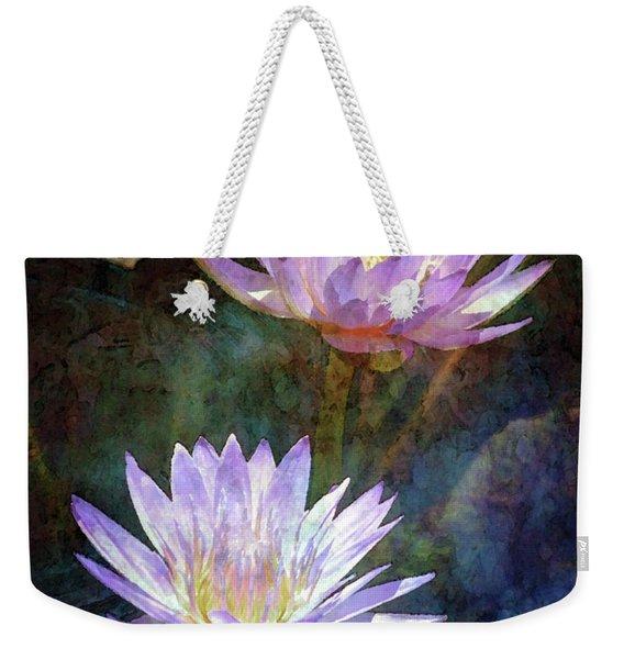 Lotus Reflections 2980 Idp_2 Weekender Tote Bag