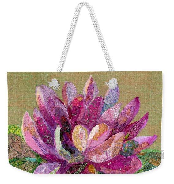 Lotus Series II - 4 Weekender Tote Bag