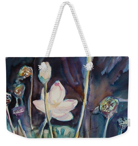 Lotus Study II Weekender Tote Bag