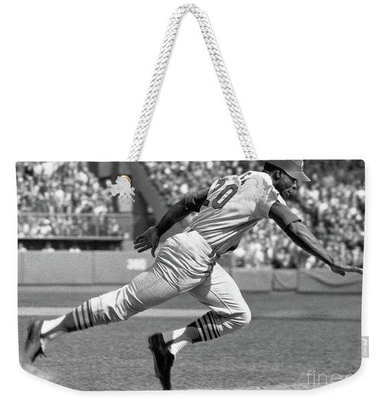 Lou Brock Weekender Tote Bag