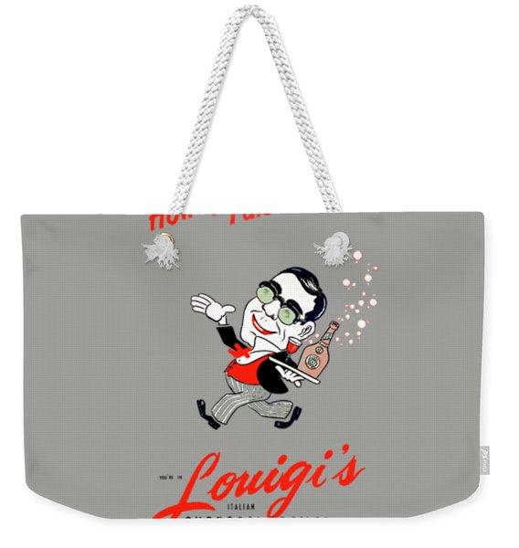 Louigis Las Vegas 1960 Weekender Tote Bag