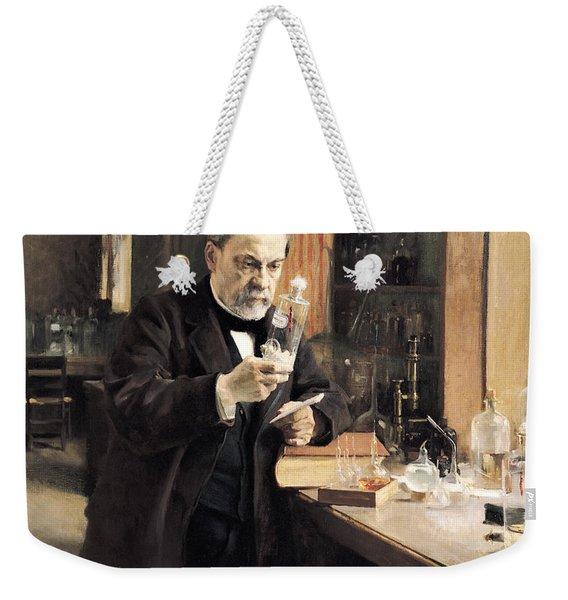 Louis Pasteur Weekender Tote Bag