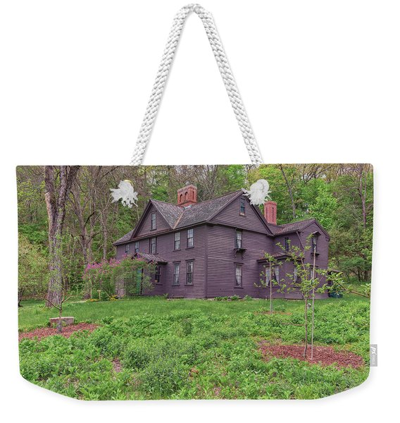 Louisa May Alcotts Orchard House Concord Massachusetts Weekender Tote Bag