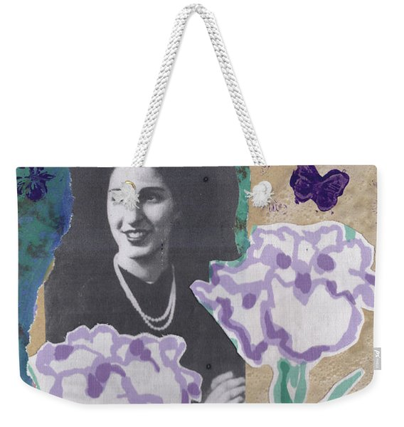 Louise In Boston 1944 In Memory Of My Mother Weekender Tote Bag