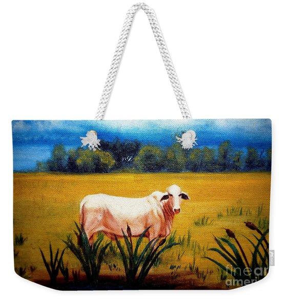 The Lonely Bull Weekender Tote Bag