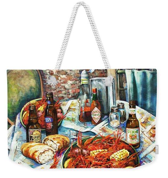Louisiana Saturday Night Weekender Tote Bag