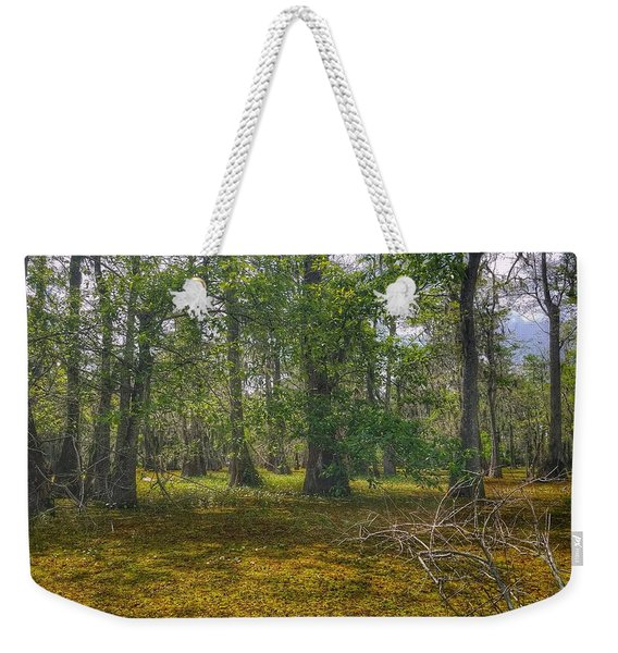 Louisiana Swamp Weekender Tote Bag