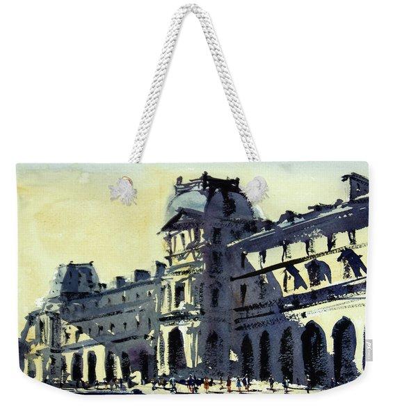 Louvre 2 Weekender Tote Bag