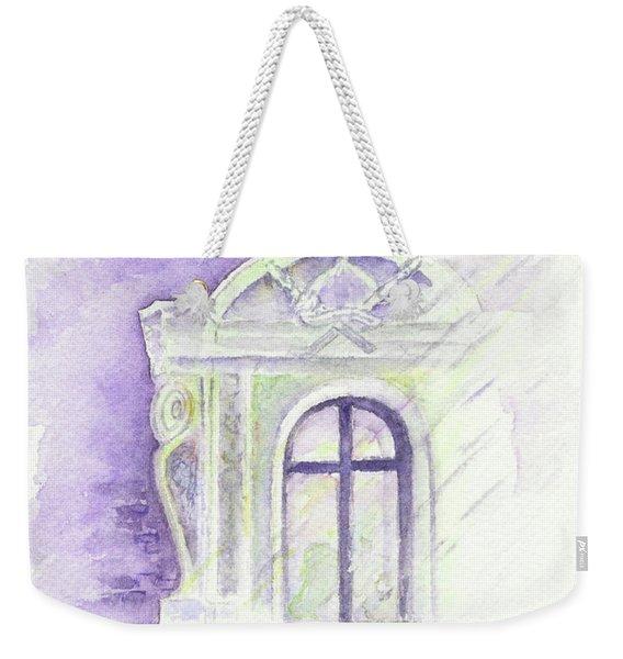 Louvre Window Weekender Tote Bag