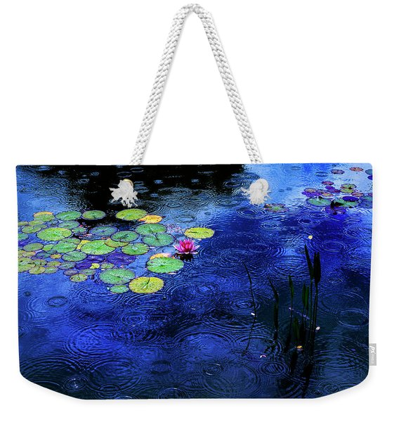 Love A Rainy Day Weekender Tote Bag
