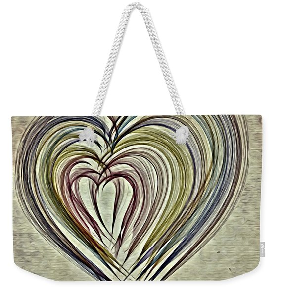Love, Always Weekender Tote Bag