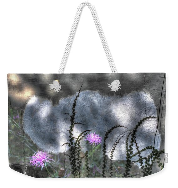 Weekender Tote Bag featuring the photograph Love And Death by Wayne King
