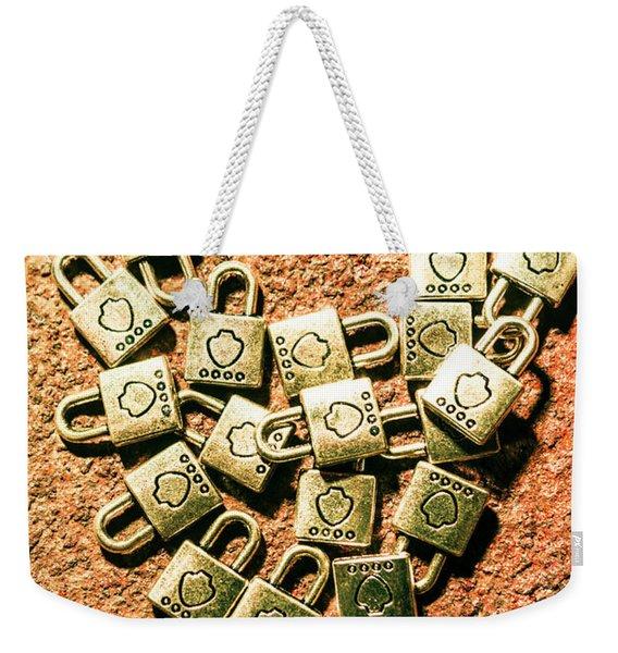 Love And Locks Weekender Tote Bag