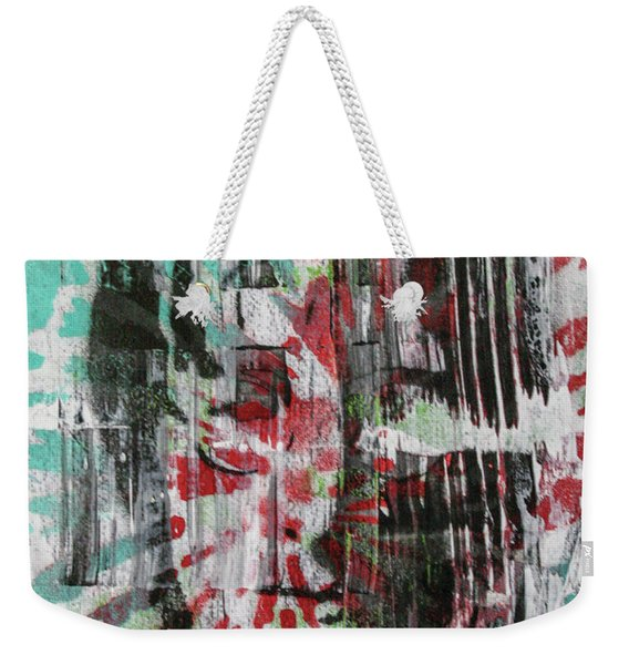 Love And Peace Are Eternal Weekender Tote Bag