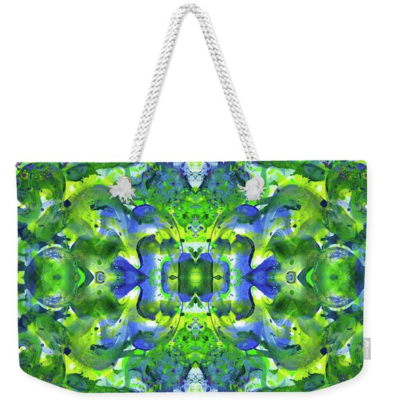 Love And Protect Our Living Gaia #1518 Weekender Tote Bag