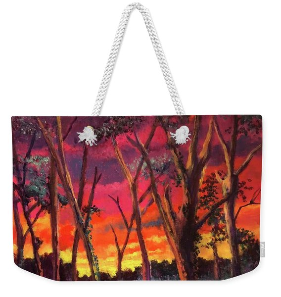Love And The Evening Star Weekender Tote Bag