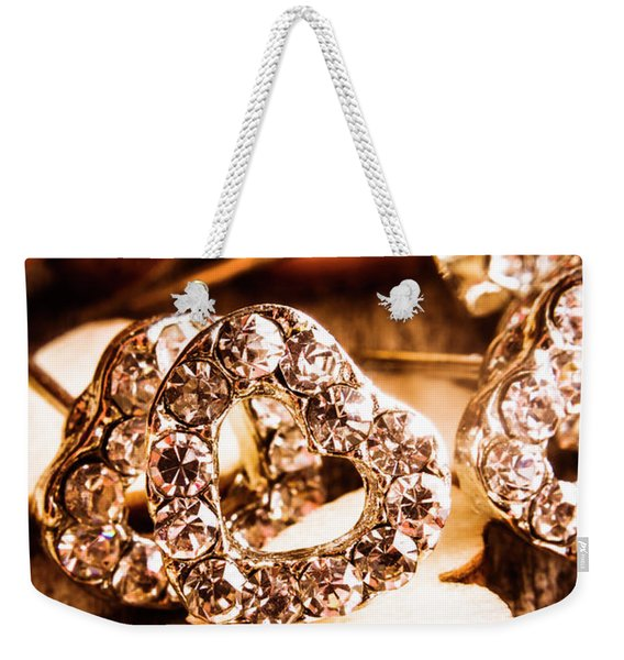 Love And The Jewellery Store Weekender Tote Bag
