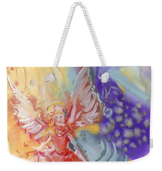 Love Angel Weekender Tote Bag