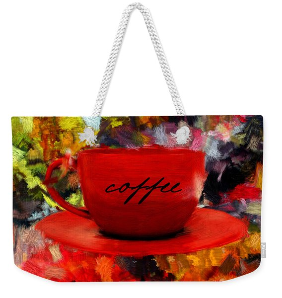 Love At First Sip Weekender Tote Bag
