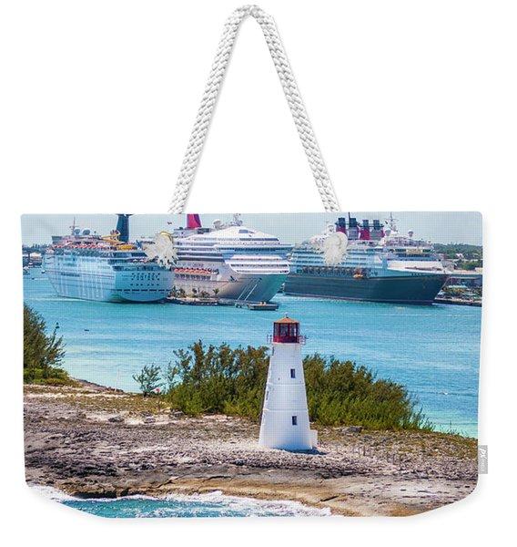 Love Boat Lane Weekender Tote Bag