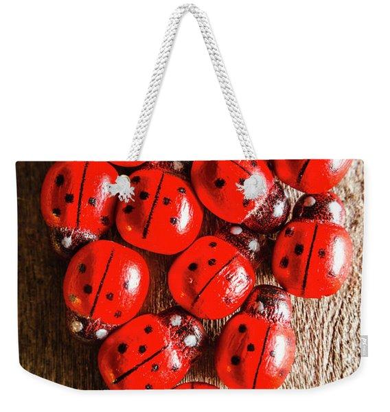 Love Bug Weekender Tote Bag