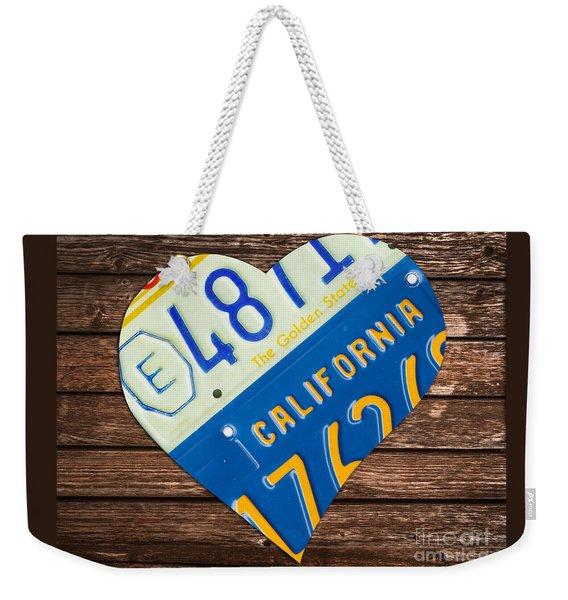 Love California Weekender Tote Bag