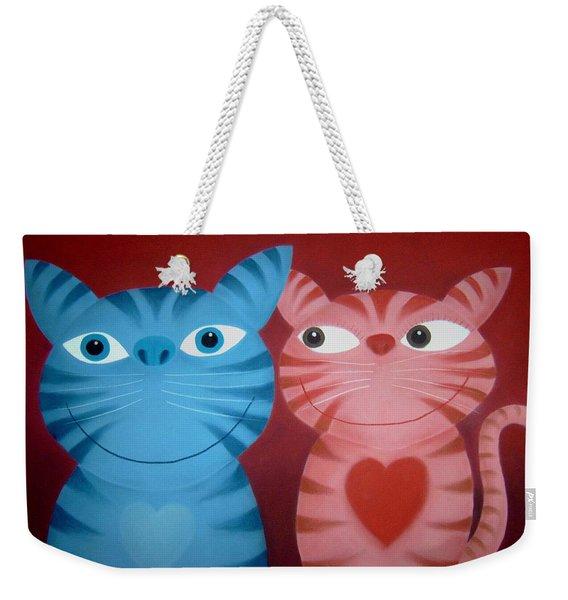 Love Catz Weekender Tote Bag