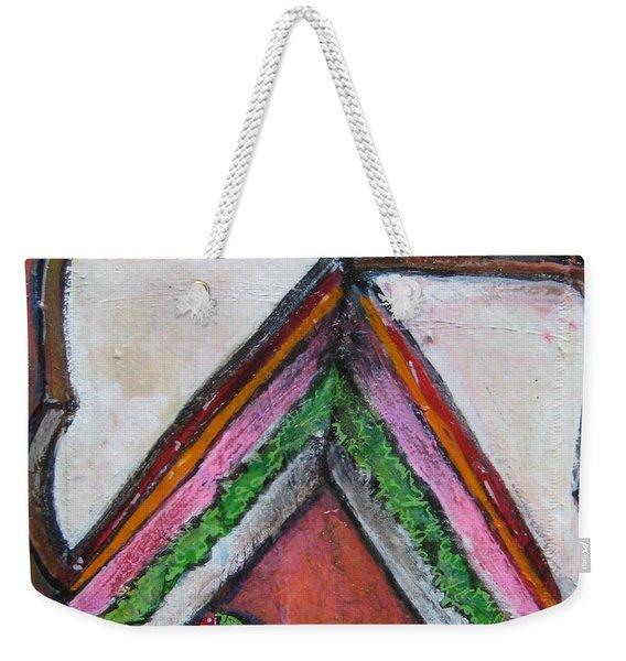 Love For Ham Sandwich Weekender Tote Bag