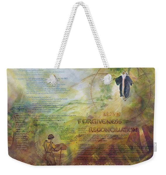 Love Forgiveness Reconciliation Weekender Tote Bag