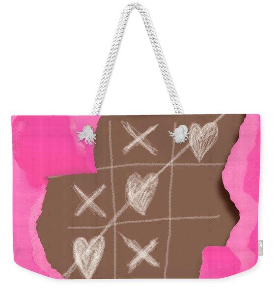 Love Games Weekender Tote Bag