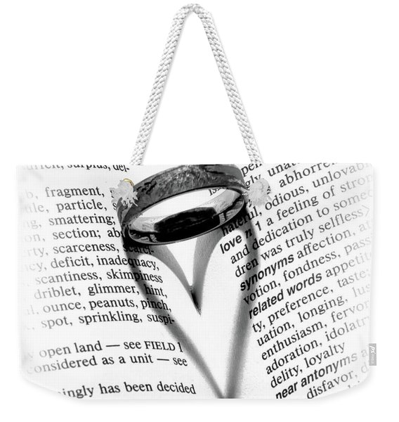Love Handles Weekender Tote Bag