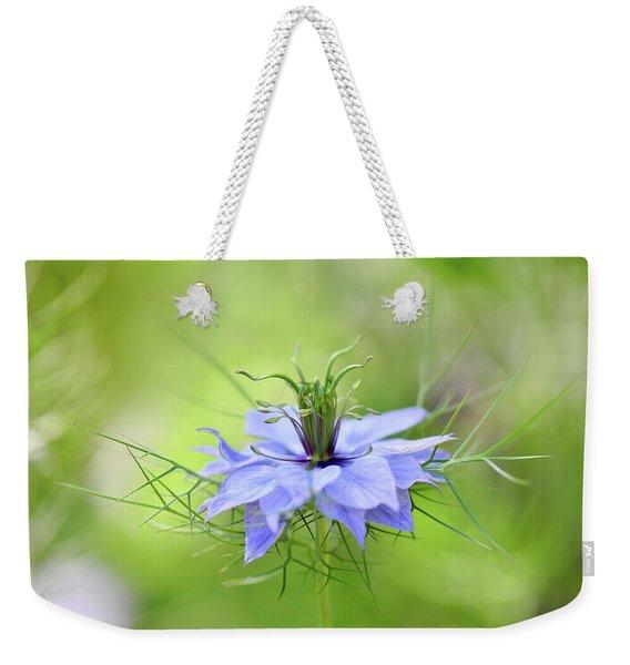 Love-in-a-mist Weekender Tote Bag