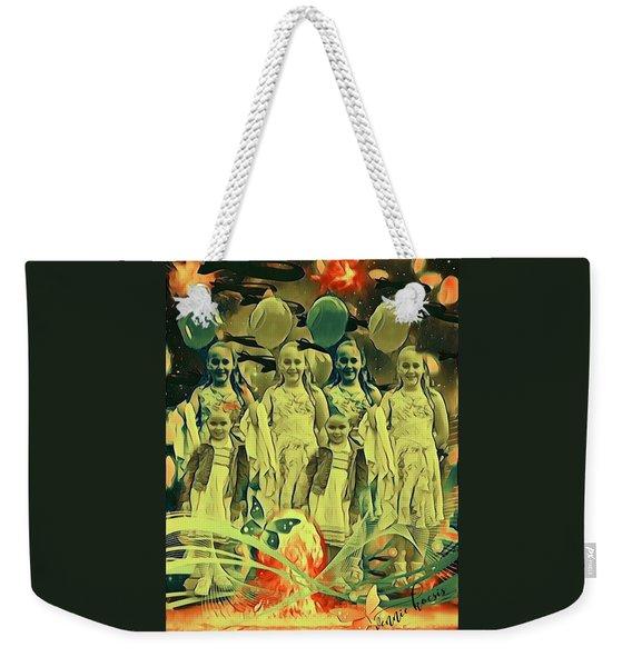 Love In The Age Of War Weekender Tote Bag