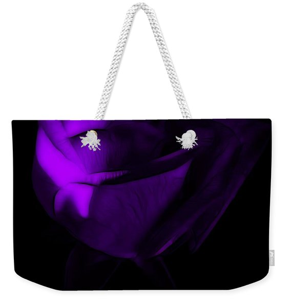 Love In The Dark Weekender Tote Bag